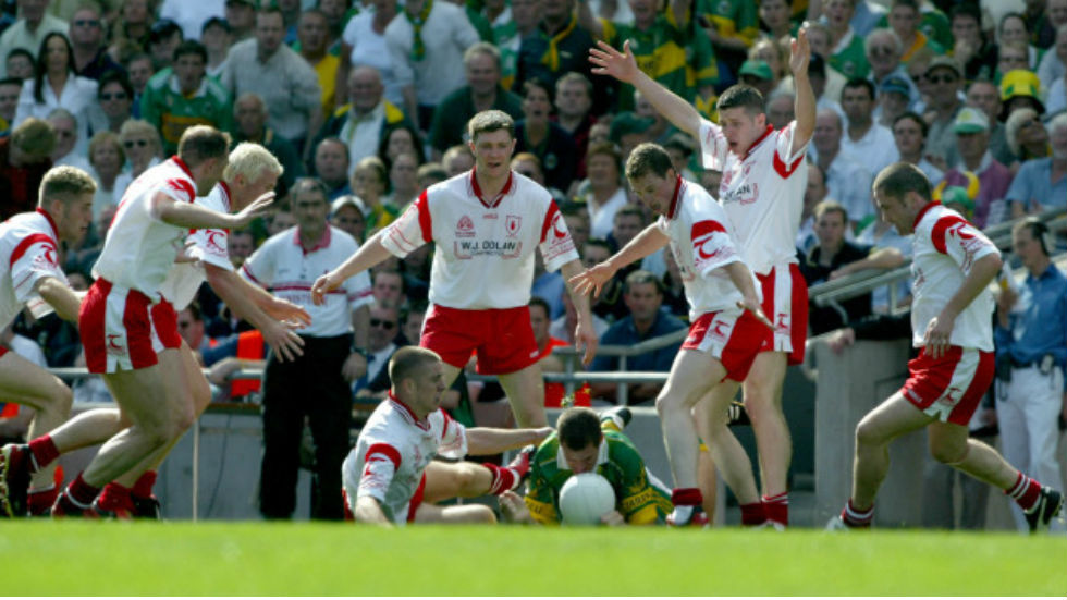 Kerry Tyrone 2003 blanket defence